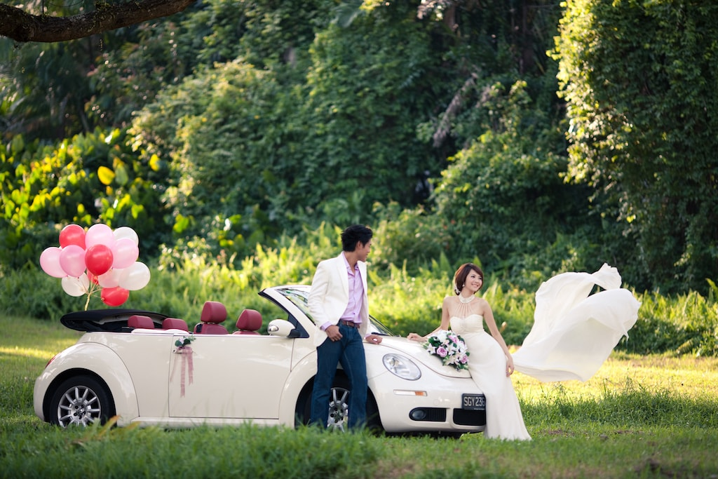 Wedding Car Rental Service Wedding Photography Singapore