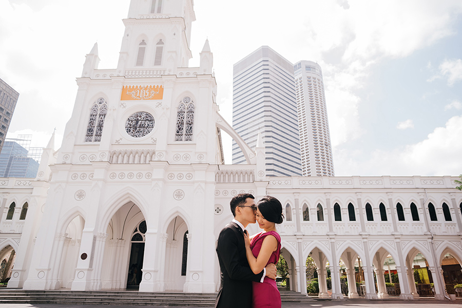 Indoor Wedding Photography Location and Venue National Gallery Singapore