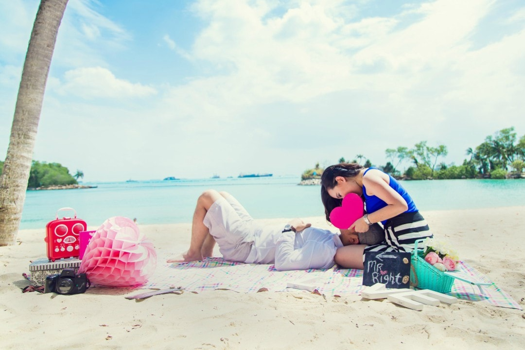 4 Inspirations for Casual Pre Wedding Photography Singapore
