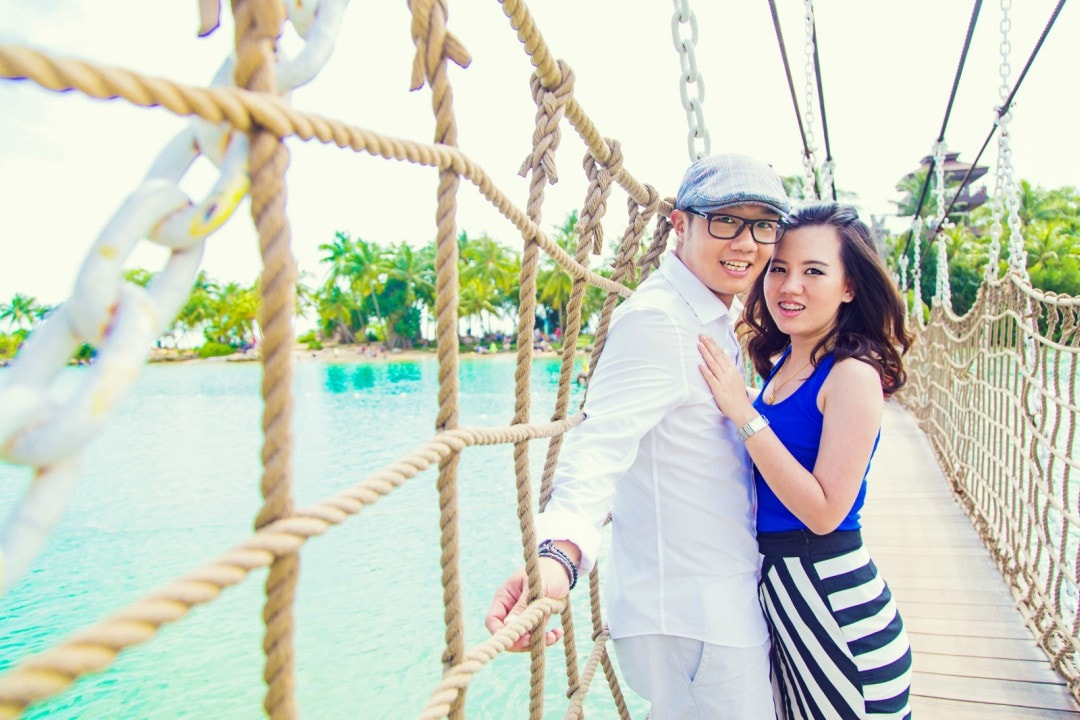 Casual Pre-Wedding Photography Singapore