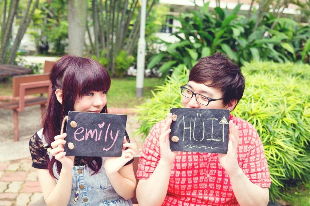 Casual Pre-Wedding Photography Singapore