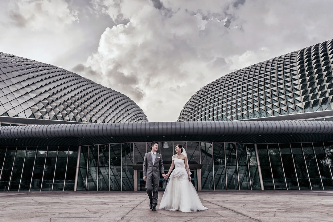 Indoor Wedding Photography Location and Venue Esplanade Singapore