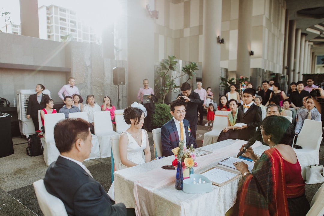 Actual Day Wedding Photography Jin and Ying Singapore