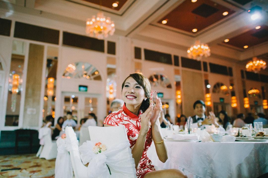 Wedding Banquet Dinner Pre-Wedding Photography Singapore