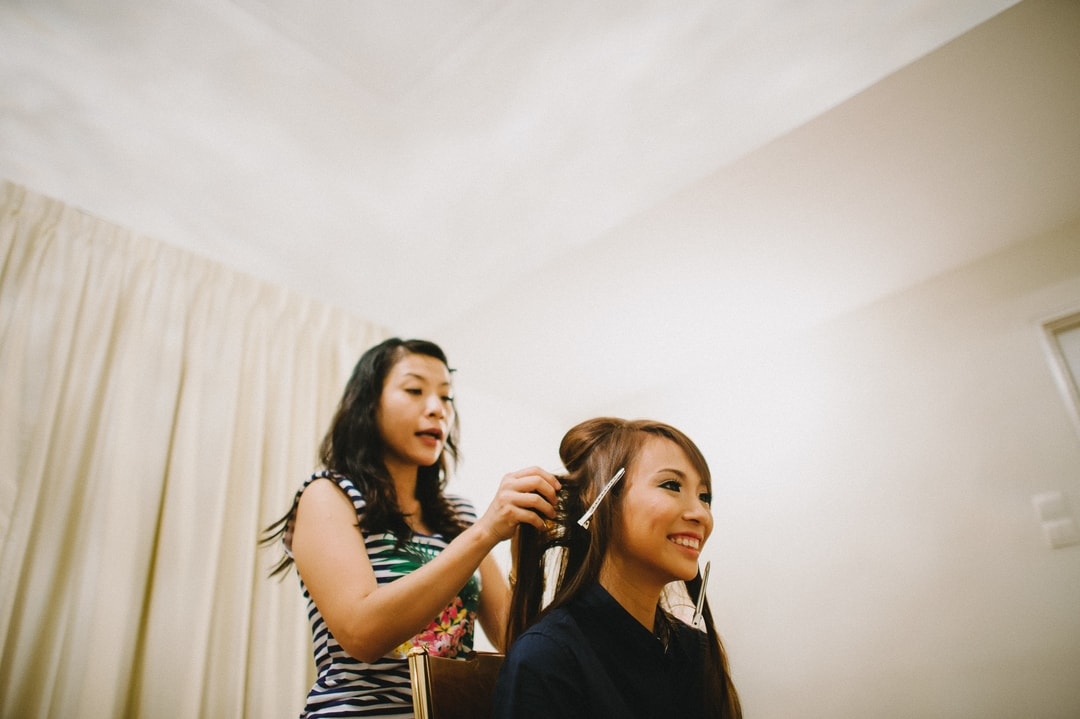 Morning Preparation Actual Day Wedding Photography Singapore