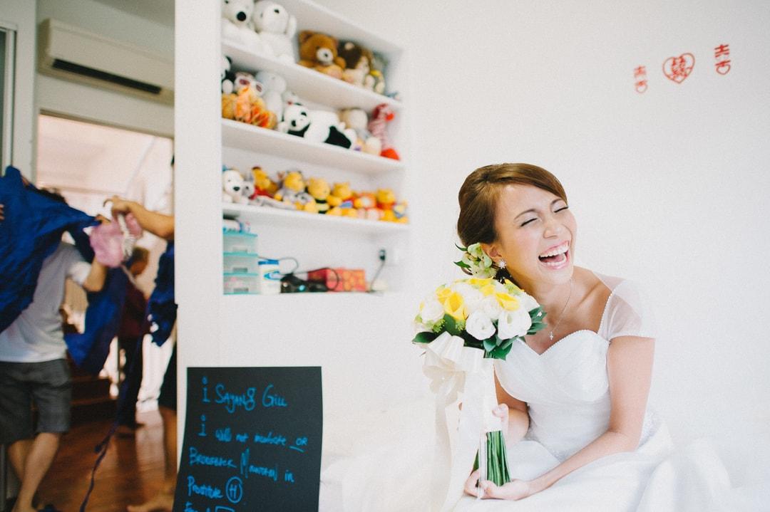 Gatecrash Actual Day Wedding Photography Singapore