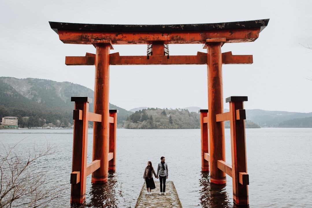 Pre Wedding Overseas Photography Raymond and Joanna Tokyo Singapore