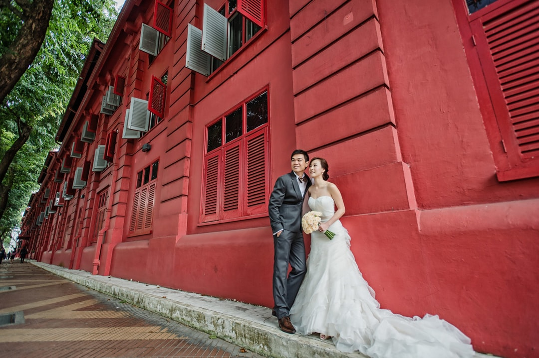Indoor Wedding Photography Location and Venue Red Dot Singapore