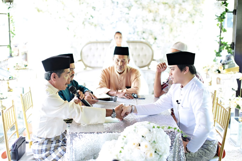 Solemnisation Malay Wedding Photography Singapore