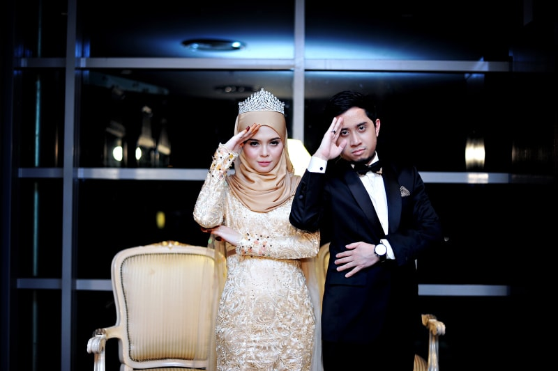 Wedding Dinner Malay Wedding Photography Singapore